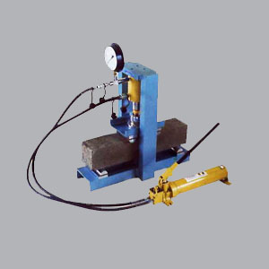 hydraulic conrete beam testing machine