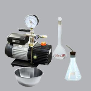 specific gravity vacuum method